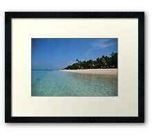 Bounty Island Framed Print