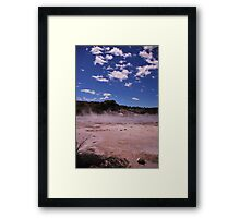 Devils Throat Framed Print