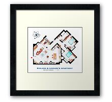 "Sheldon & Leonard's apartment from ""TBBT"" Framed Print"