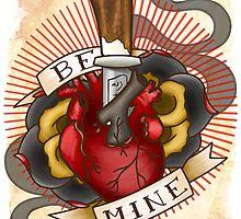 Demon Heart Valentine by JacksonDean