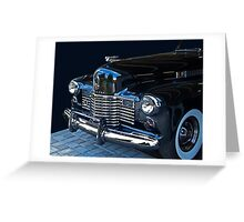 1941 Cadillac Convertible Grill Detail Greeting Card