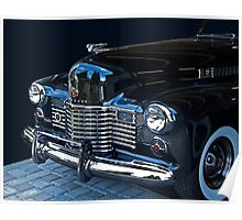 1941 Cadillac Convertible Grill Detail Poster