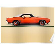 1969 Chevrolet Camaro COPO w/o ID Poster