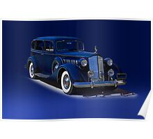 1937 Packard Formal Sedan w/o ID Poster