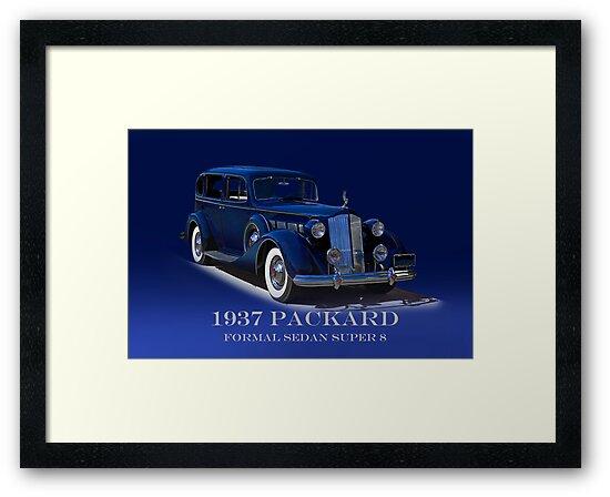 1937 Packard Formal Sedan w/ID by DaveKoontz