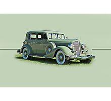 1935 Buick Series 60 Club Sedan w/o ID Photographic Print