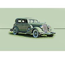 1935 Buick Series 60 Club Sedan w/o ID Photographic Print