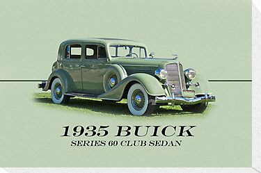 1935 Buick Series 60 Club Sedan w/ID by DaveKoontz