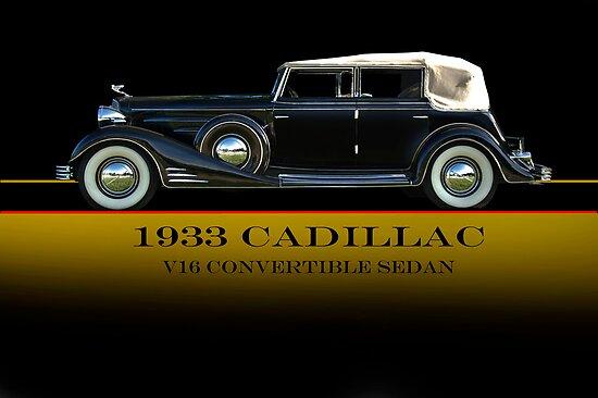 1933 Cadillac V16 Convertible Sedan w/ID by DaveKoontz
