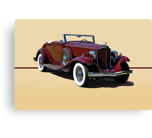 1932 Packard 900 Convertible Coupe w/o ID Canvas Print