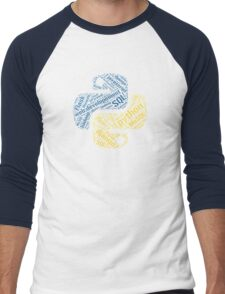 Python Programmer T-shirt & Hoodie Men's Baseball ¾ T-Shirt