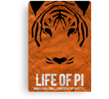 Pi of the Tiger Canvas Print