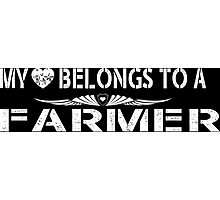 My Love Belongs To A Farmer - Tshirts & Accessories Photographic Print