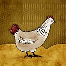 Cecile the Hen by Rencha