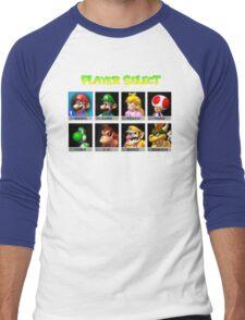 Player Select Men's Baseball ¾ T-Shirt