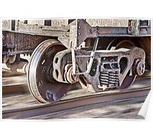 Steel Hitting Steel Poster