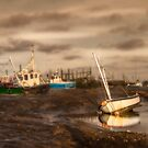 Boats waiting for the tide by Patricia Jacobs CPAGB LRPS BPE3