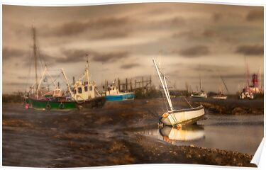 Boats waiting for the tide by Patricia Jacobs CPAGB LRPS BPE2