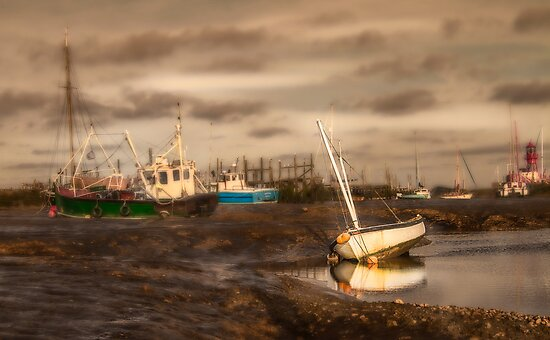 Boats waiting for the tide by Patricia Jacobs CPAGB LRPS BPE4
