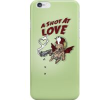 A shot at love iPhone Case/Skin