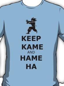 Keep Kame and Hame Ha T-Shirt