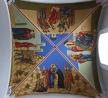 Cathedral Ceiling II. Holy Trinity Cathedral, Petropavlovsk-Kamchatskiy, Russia by Igor Pozdnyakov