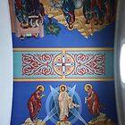 Cathedral Ceiling III. Holy Trinity Cathedral, Petropavlovsk-Kamchatskiy, Russia by Igor Pozdnyakov