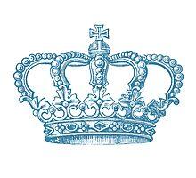 Aqua Vintage Crown by pencreations