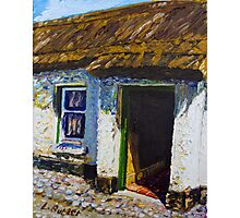 Ballinderry Forge Cottage, Cultra, County Down. Photographic Print