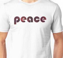 peace space tshirt Unisex T-Shirt