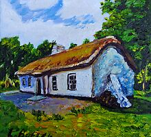 The Weaver's Cottage, Cultra, County Down.  by Laura Butler