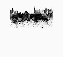 Las Vegas skyline in black watercolor Unisex T-Shirt