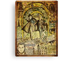 Sherlock Dada Doll Canvas Print