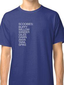 The Scoobies (light type) Classic T-Shirt