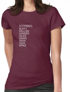The Scoobies (light type) Womens Fitted T-Shirt