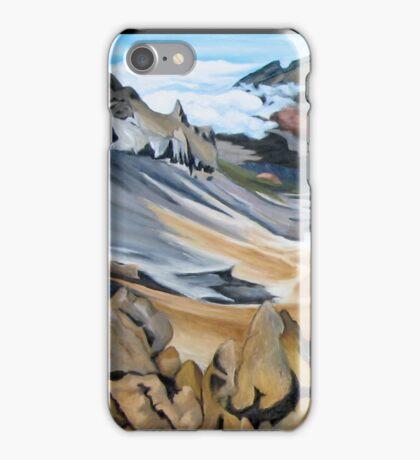 """Haleakala Volcano Crater, Maui."" iPhone Case/Skin"