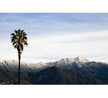 Southern California Snow Photographic Print