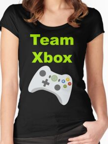 Team Xbox Women's Fitted Scoop T-Shirt