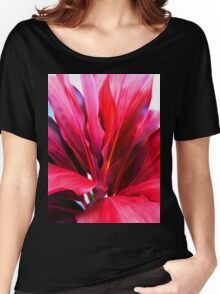 Ti Leaf Series #3 Women's Relaxed Fit T-Shirt