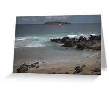 Off Shore Greeting Card
