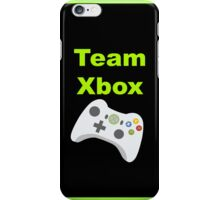 Team Xbox iPhone Case/Skin