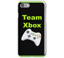 Team Xbox iPhone Case/Skin