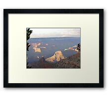 Grand Canyon Shadows Framed Print