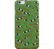 Happy Pepe Collage iPhone Case/Skin