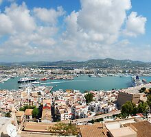 Ibiza Town by Lucy Adams