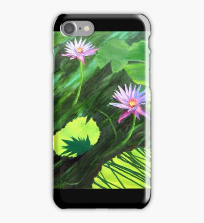"""""""Splendor of the Lilies in the Sun."""" iPhone Case/Skin"""