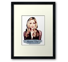 Buffy: Slayer, The Framed Print