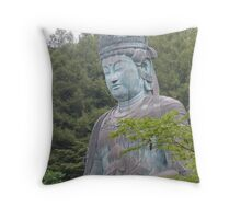 Big Buddah Throw Pillow