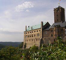Wartburg Castle by Fred  Senecal