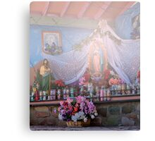 Road side Religion Canvas Print